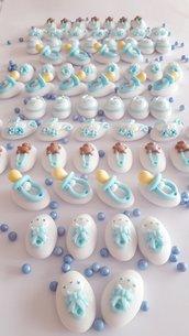 Confetti decorati - Confettata nascita - confettata battesimo - confetti decorati - confetti battesimo - confetti nascita - confetti rosa - confettia bianchi - bomboniere fai da te