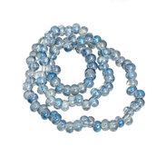 Filo  Perle perline in vetro  5 X 6 mm  decorazioni Accessori bigiotteria, orecchini, bracciali, collane