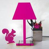 2.D NIGHT lampada fucsia - Design 100% italiano (Caoscreo)