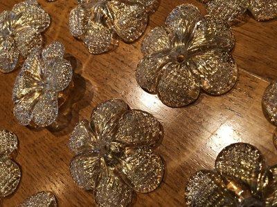 Plafoniera Fiori Vetro : Rosette o fiori pezzi di ricambio per lampadari venini