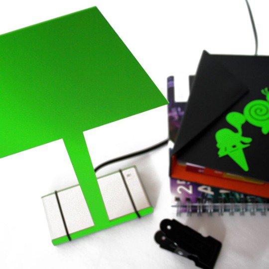 2.D NIGHT lampada verde - Design 100% italiano (Caoscreo)
