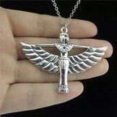 Collana ISIDE dea egizia ciondolo protezione amuleto regalo
