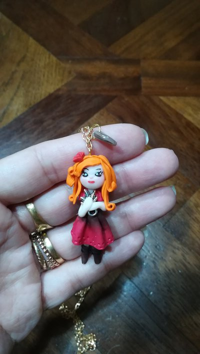 Doll in fimo autunno
