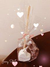 Profumatore a forma di cuore ideale come bomboniera matrimonio idea regalo battesimo