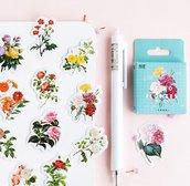 Stickers  armonia di fiori