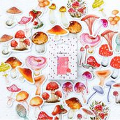 """Stickers """"meravigliosi funghi"""""""