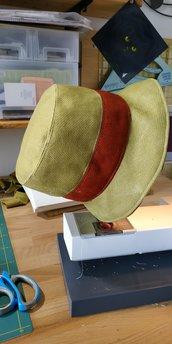 cappello invernale verde