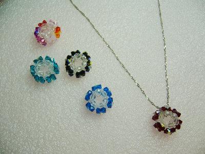 collana con pendente swarovski
