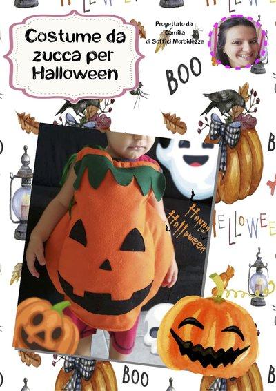 Tutorial costume da zucca per Halloween- PDF