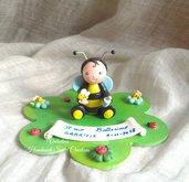 Cake topper bebè ape