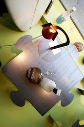 """PUZZLE TABLE calamina """"out""""- Bellissimo tavolino modulare NATURALE (caoscreo)"""