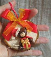 Orsetto con pacco regalo Natale
