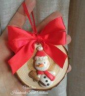 Pupazzo di neve idea regalo Natale
