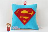 Cuscino Superman in pannolenci