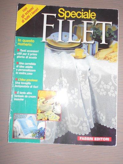 Speciale FILET - Rivista uncinetto