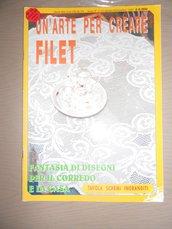 Un'arte per creare filet - Rivista uncinetto - tavola schemi ingranditi