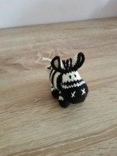 Zebra all'uncinetto amigurumi