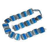 Perle perline 2 x 2 mm in toni azzurro - Blu - Grigio  con foro Matrimonio Accessori sposa Nozze