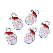 Pendenti Charms BABBO NATALE bomboniera bomboniere, segnaposto,. per bigiotteria, collane portachiavi, orecchini  chiudipacco