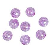 100 Perle perline acrilico LILLA 8mm con foro Matrimonio Accessori sposa Nozze
