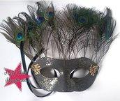 """Maschera per carnevale """"pavone"""""""