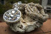 Collezione  Come Pietra - Collana scalda-collo Tienimi Calda grigio