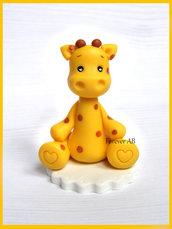 Giraffa nascita battesimo compleanno segnaposto bomboniere bomboniera