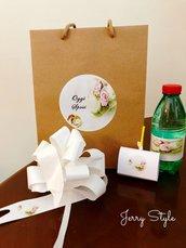 Wedding bag, sacchetto matrimonio, fiocco auto matrimonio personalizzato