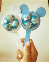 Portaconfetti topolino minnie compleanno