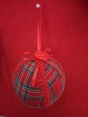 Palline natalizie scozzesi