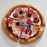 pizza in feltro- kit gioco feltro pizza componibile