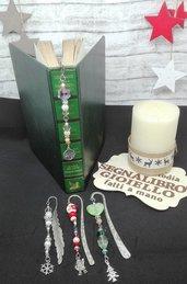 Segnalibro gioiello il regalo di Natale