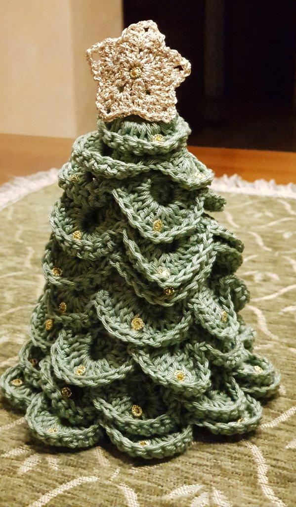 Albero Di Natale Alluncinetto Per La Casa E Per Te Produzioni