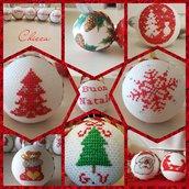 Palline di Natale artigianali