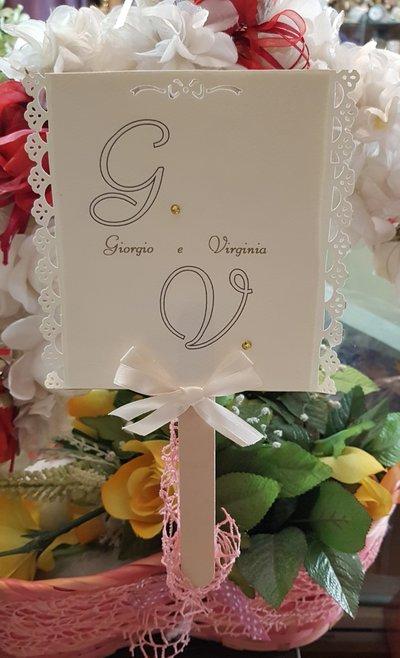 Ventaglio Matrimonio Personalizzato