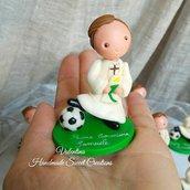 Statuina Comunione calcio