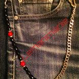#catena #jeans #uomo #rossonera