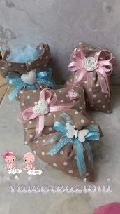 Bomboniera nascita, battesimo, segnaposto, portaconfetti, confettata, regalo nascita, confetti, primo compleanno, regalo
