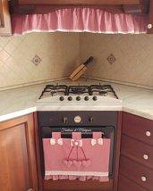 Set cucina copriforno,riccio per cappa stile country chic