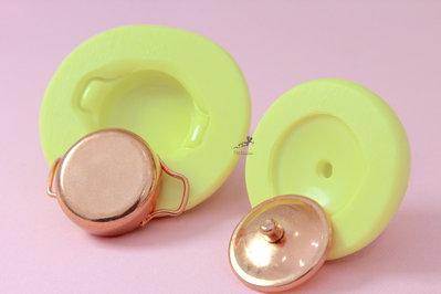 Stampi in silicone-Stampi per il fimo-Stampo piatto miniature dollhouse-Stampo Gioielli-Stampi Silicone-Stampini in Silicone-Stampi Fimo-Fimo-Made in italy-Handmade ST516