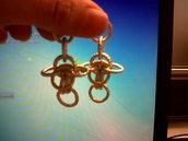 Orecchini Chain mail