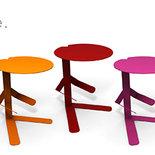 MISTER T - Particolare tavolino con porta libri (Caoscreo)