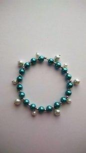 Braccialetto con perle turchesi