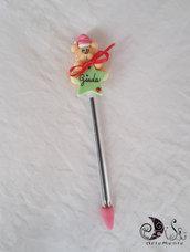 Penna natalizia personalizzabile idea regalo per adulti e bambini