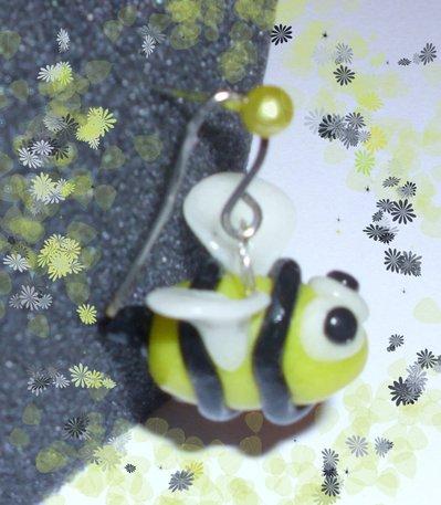 orecchini cernit/fino ape