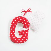 Portachiavi personalizzabili con iniziale in stoffa: un'dea regalo originali per stare vicini ai tuoi cari con un oggetto unico realizzato appositamente per loro