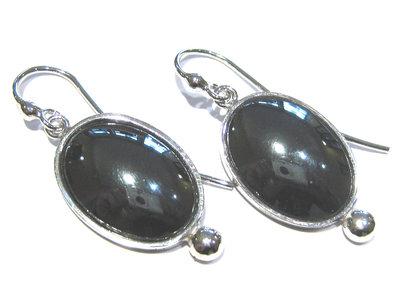 orecchini ematite grigia