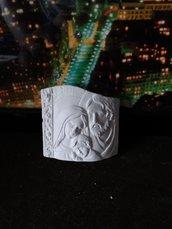 Bomboniera sacra famiglia in gesso ceramico profumato