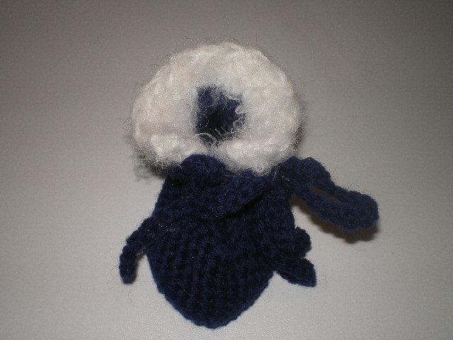 scarpine lana con bordo di pelliccetta