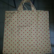 Borsa tessuto shopping bag